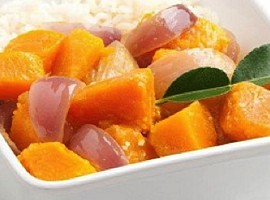 Pumpkin Thai Green Curry