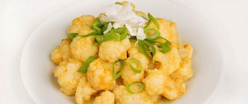 Cauliflower Coconut Salad