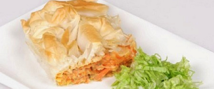 Carrot Filo Pie